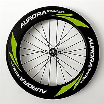 Aurora Racing ciclocross bicicleta Clincher para rueda trasera Freno de disco 88 mm de carbono 20/24 agujeros: Amazon.es: Deportes y aire libre