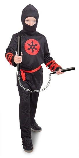 Folat - Disfraz Guerrero Ninja: Amazon.es: Juguetes y juegos
