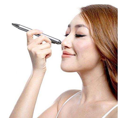 2 in 1 Vibration & massage ballpoint pen - mini Massage Tip Pen with Gift Box - Multifunction Electronic Pen (Silver) by JASON YUEN (Image #6)