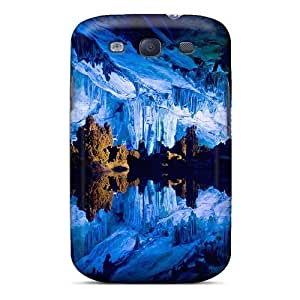 Quality Williams6541 Case Cover With Mountain Cave Lake Nice Appearance Compatible With Galaxy S3