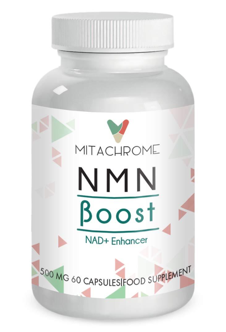 (NMN) β- Nicotinamide Mononucleotide 250mg's + 250mg's Pterostilbene (60 Capsules)