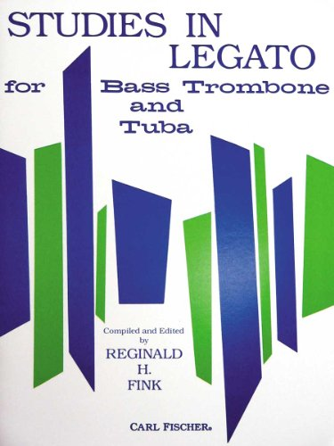 O4768 - Studies In Legato: Bass Trombone & Tuba (German Edition)