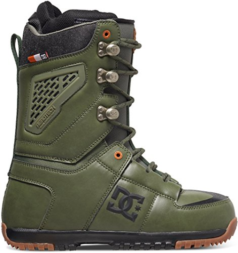 DC Lynx Snowboard Boots, Military Green, Size 10