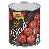 Muir Glen Organic Fire Roasted Diced Tomatoes, 796-Milliliter