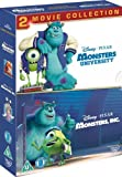 Monsters, Inc./Monsters University Collection [DVD] [2001]