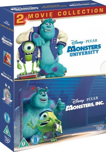 Monsters University / Monsters Inc [Region2] Requires a Multi Region Player