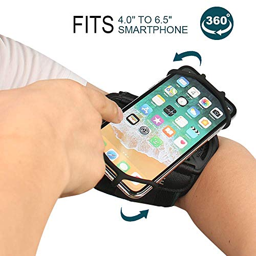 Armband holder iPhone Galaxy Rotatable