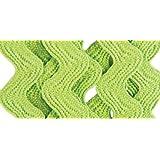 Wrights 117-401-922 Polyester Rick Rack Trim, Leaf Green, Medium, 2.5-Yard