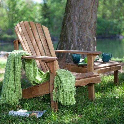 Charmant Belham Living Hampton Deluxe Oak Adirondack Chair