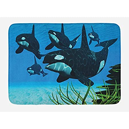 51hZFaxLtOL._SS450_ Whale Rugs and Whale Area Rugs
