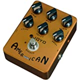 JOYO JF-14 American Sound Overdrive Guitar Pedal from Original Sound to Overdrive Pedal Amplifier Simulation 57 Deluxe…
