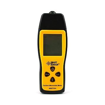 Laurelmartina Medidor de monóxido de Carbono de Pantalla LCD con retroiluminación Analizador de Detector de Monitor