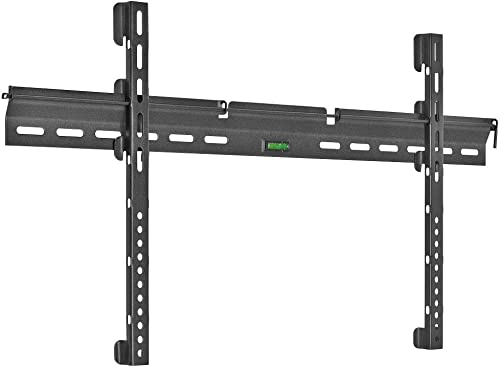 Cmple – Ultra Slim TV Wall Mount for 37-70 inches LED Plasma LCD Flat Screen TVs, Fixed TV Mount for 37 in – 70 in TVs, Monitors, up to 143lbs Max VESA 800×400