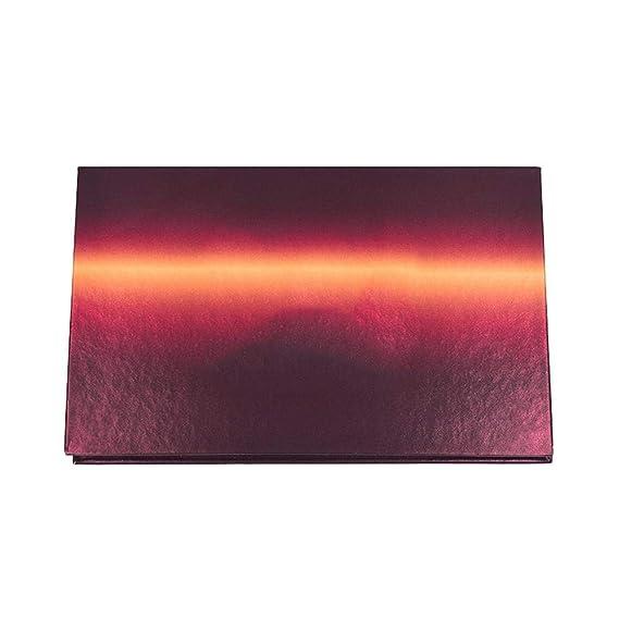 Biback 18 colores mate paleta de sombra de ojos a prueba de agua de larga duración Shimmer paleta de sombra de ojos en polvo altamente pigmentado conjunto ...