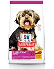 Hill's Science Diet Adult Small Paws Dry Dog Food, Chicken Meal & Rice Recipe, 4.5 lb Bag