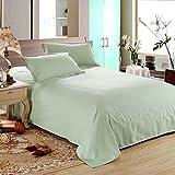 Bed sheets cotton single thicker pure color double comfortable-E 300x250cm(118x98inch)