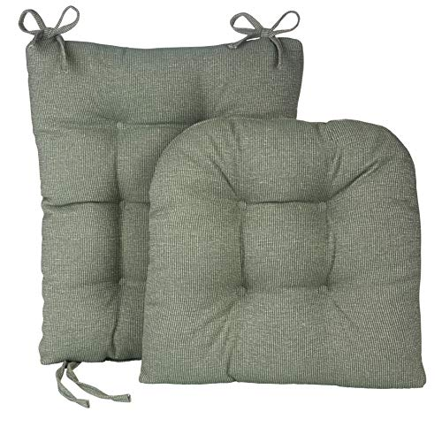 Klear Vu Gripper Jumbo Saturn Rocking Chair Cushion Set, - Rocker Sage