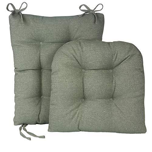 (Klear Vu Gripper Jumbo Saturn Rocking Chair Cushion Set, Celadon)