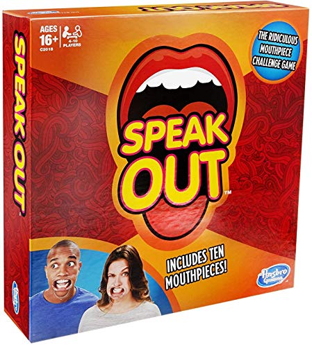 Speak Out Game (with 10 Mouthpieces) (Out Words Game ???)