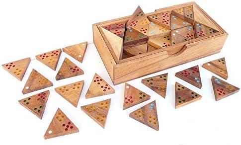 LOGICA GIOCHI Art. Tridomino - Juego de Mesa para 2-6 Jugadores ...