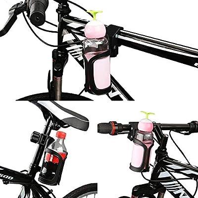 Balight MTB Bicicleta Botella de Agua Soporte de policarbonato ...