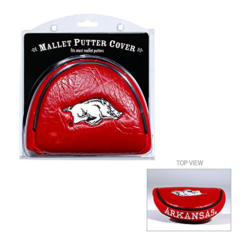 - Arkansas Razorbacks Cardinal Mallet Putter Cover-