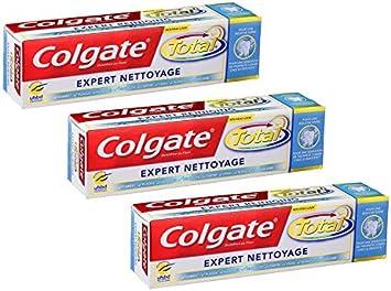 Colgate - Total de limpieza de expertos Pasta de dientes - 75 ml - Pack de 3: Amazon.es: Salud y cuidado personal