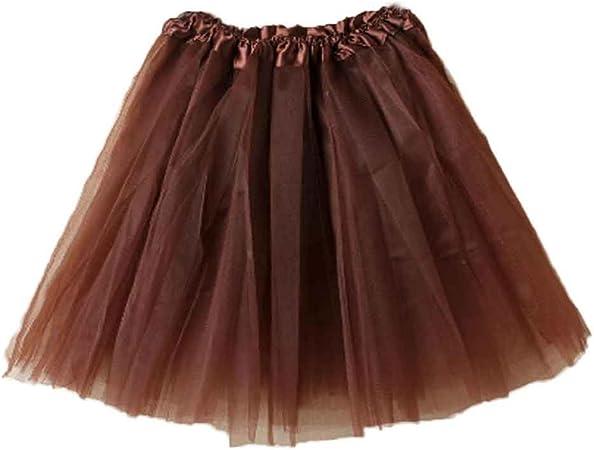 3 Layer Ruffle Petticoat Tutu Underskirt Womens Fancy Dress Hen Night Party
