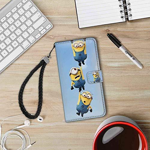 Wallet Case Compatible Apple iPhone 7 Plus & 8 Plus (5.5in) Despicable Me Minions for Women