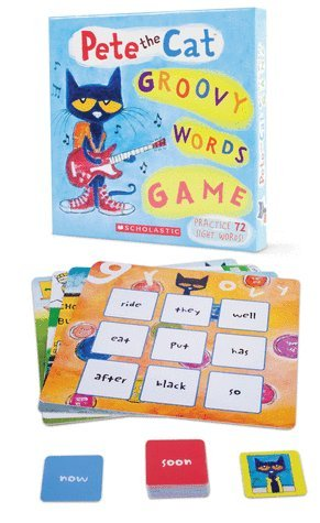 - Pete the Cat Groovy Words Game (Sight Words Bingo)