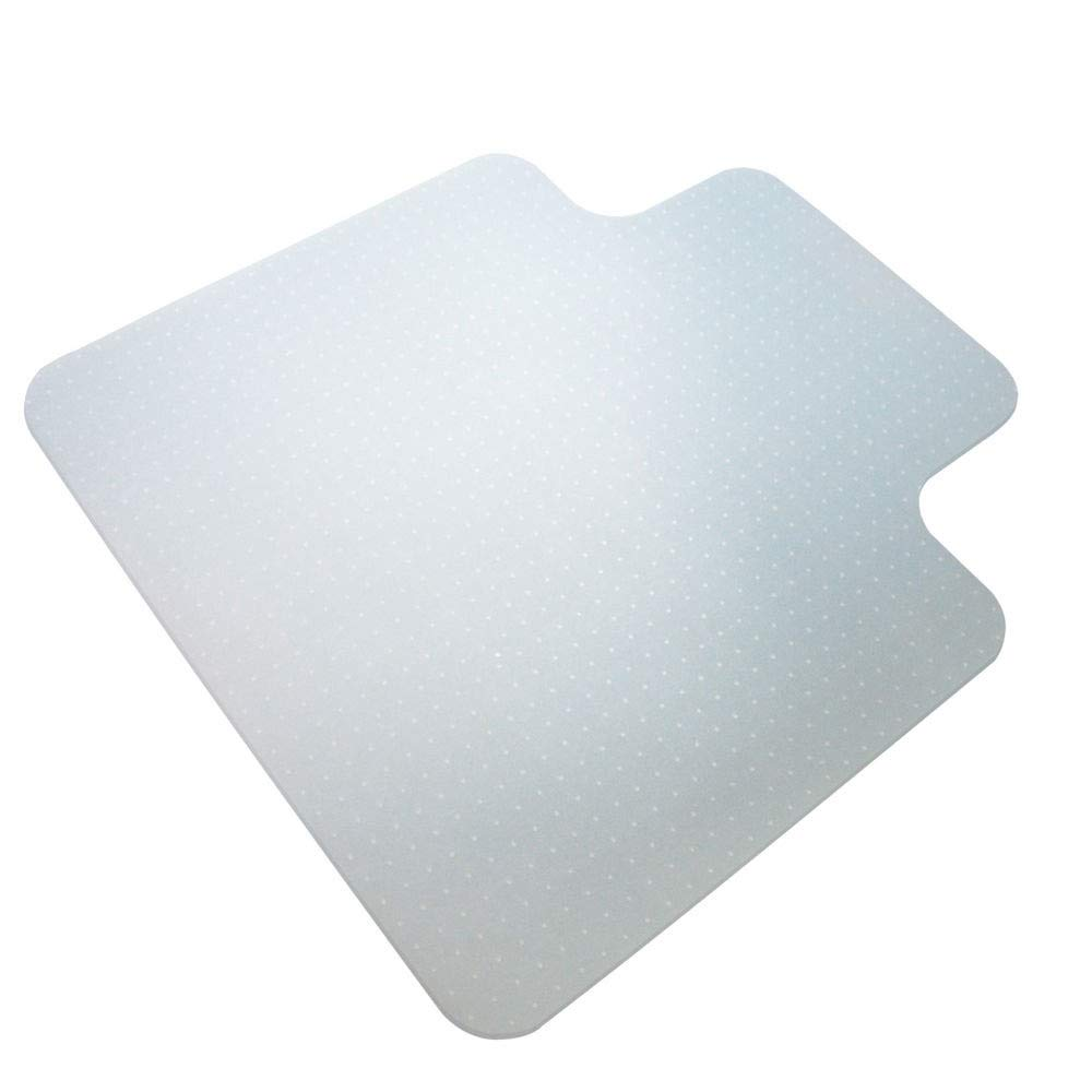 UltraMat Heavy Duty Chair Mat for Low & Medium Pile Carpet | 3.8 mm -Thickest Mat | Flat Packaged | No Odor | 36'' x 48'' | Transparent | with Lip | Studded | Flexible | Durable