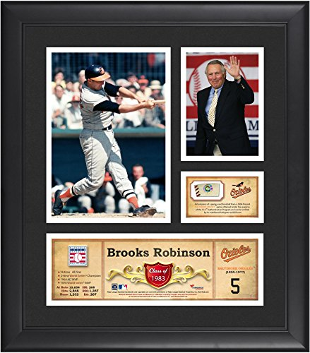 Baltimore Orioles Brooks Robinson Framed (Brooks Robinson Baltimore Orioles Framed 15