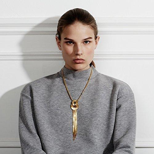 Lara Bohinc Collier Laiton Femme 50cm