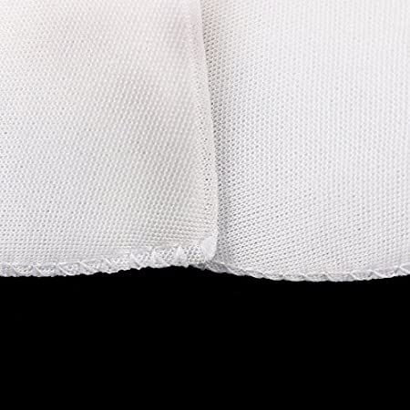 Chris.W 4 Pairs 1//2 Covered Set-in Shoulder Pads Sewing Foam Pads for Blazer T-Shirt Clothes Medium 2 Pairs White and 2 Pairs Black