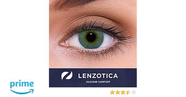 4c515817c1861 Revestimiento fuerte lentes de contacto de hidrogel de silicone azules  naturales color
