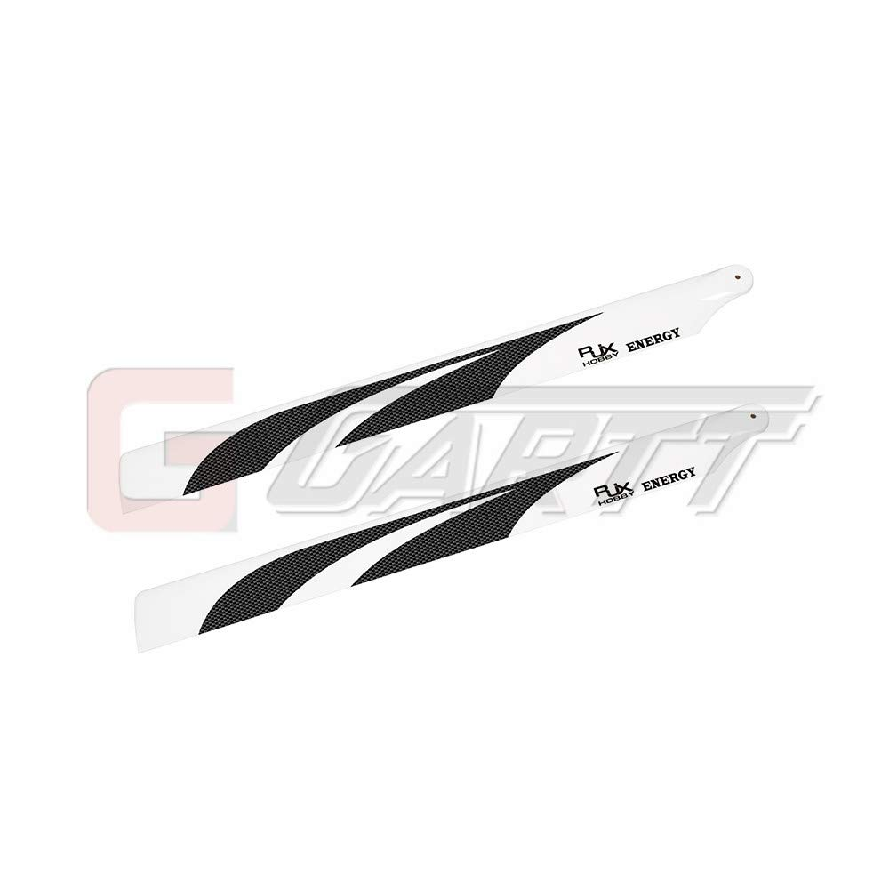 GARTT RJX Carbon Fiber Main Blades (690mm) for 700 RC Helicopter