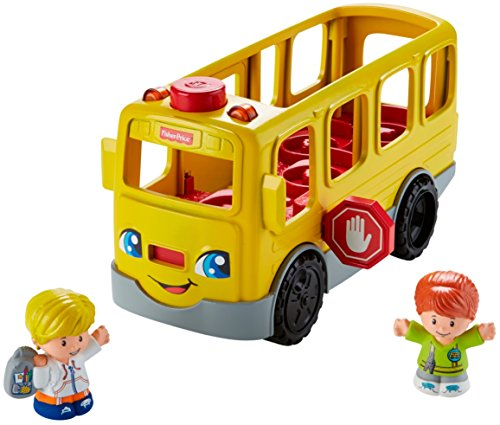 51hZMzKqriL - Fisher-Price Little People Sit with Me School Bus Vehicle
