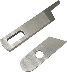 LNKA Upper Knife 412585 Lower Knife 550449 for Singer 14CG754 14SH654 14SH644 14SH744 Pfaff 4762 4772 Babylock Serger Machine