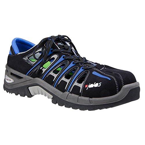 Ejendals 9512–�?2Jalas 9512die-Schuhe Arbeit Größe 42 Schwarz / Grau / Blau