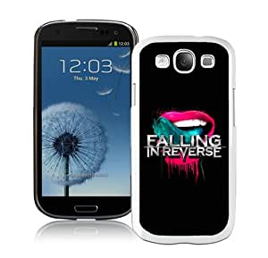 Unique And Lovely Designed Case For Samsung Galaxy S3 With Falling In Reverse White Phone Case