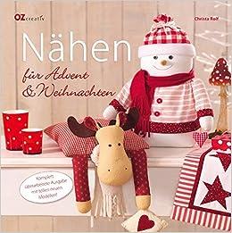 Nähen Für Advent Weihnachten Amazonde Christa Rolf Bücher