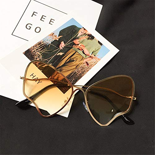 les lunettes États mode Unis soleil de de rétro soleil slim NIFG lunettes personnalité papillon sauvages Europe lunettes 51wqInEB
