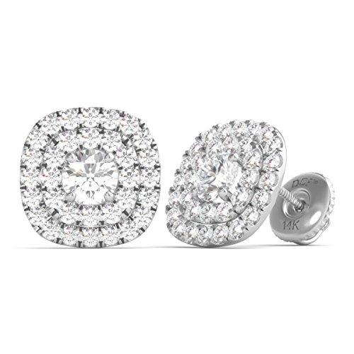 Diamond Studs Forever 14K Gold