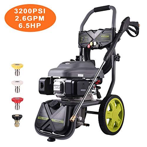 AUTLEAD 3200 PSI 2.6 GPM Gas Pressure Washer 196cc CARB GSH01A Axial Cam Pump