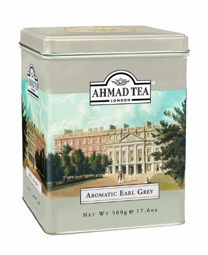 Ahmad Tea Earl Grey Aromatic Loose Tea, Ceylon Caddy, 17.6 Ounce