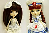Pullip ' Anne of Green Gables ' nude Petit custom already + BHC sailing dress other makeover set