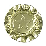 Royal Gold Star Aluminum Ashtrays, Package of 1000