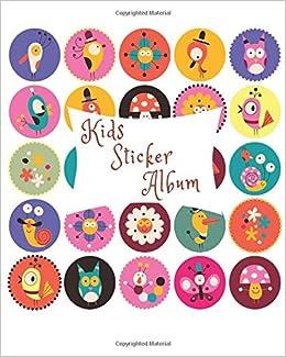 Kids Sticker Album: Blank Sticker Book, 8 X 10, 64 Pages Download Pdf
