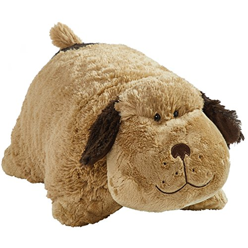Pillow Pets Signature Stuffed Animal Plush Toy 18'', Snuggly Puppy by Pillow Pets