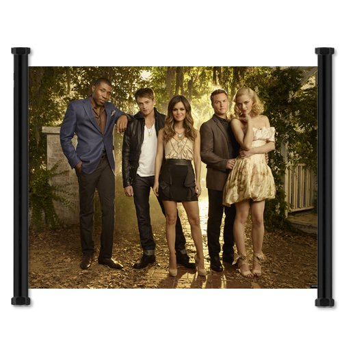 "Hart of Dixie CW TV Show Rachel Bilson Fabric Wall Scroll Poster (42""x32"") Inches"